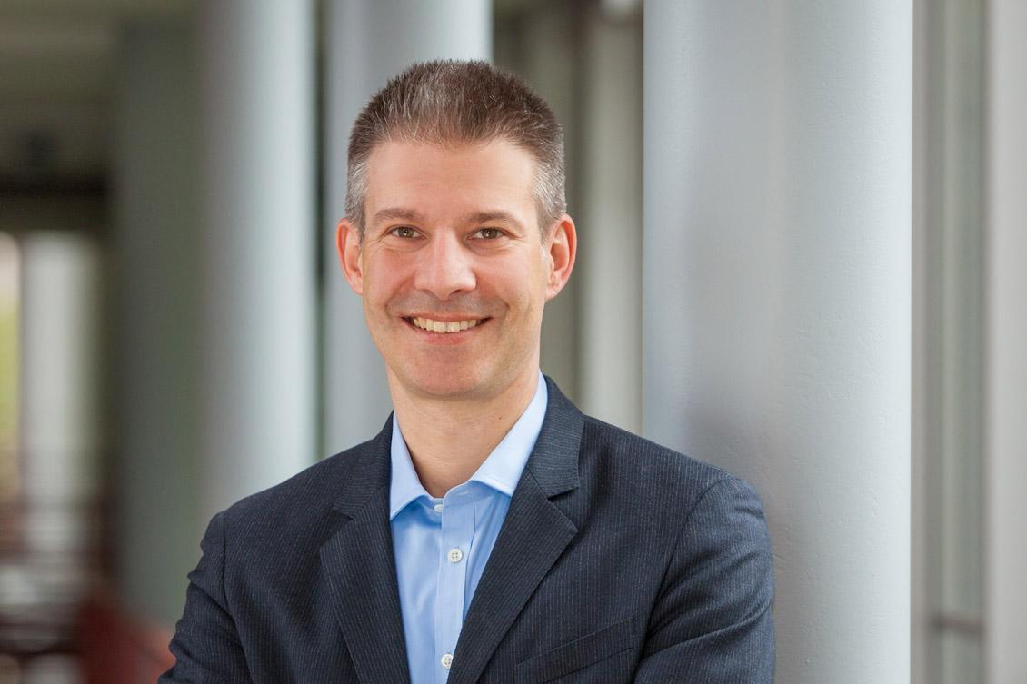 Mathias Hüske, neuer Geschäftsführer von eos.uptrade