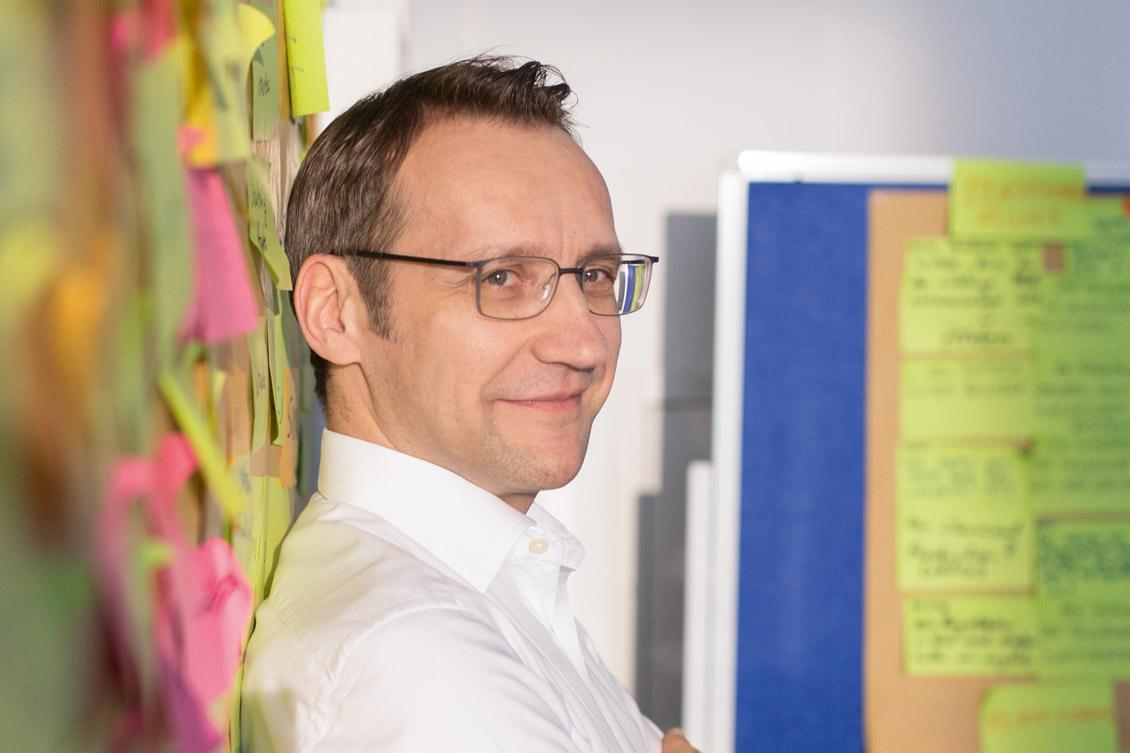 Henrik Hahn, CDO von Evonik und CEO von Evonik Digital