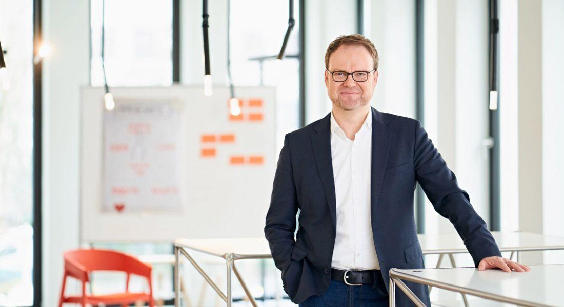 Michael Strauß, CDO der KfW