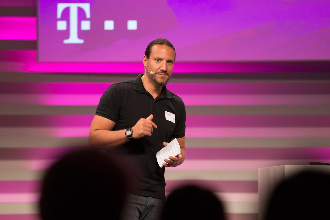 Nils Stamm, CDO der Deutschen Telekom